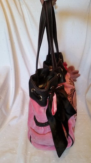 Juicy Couture Tote in Pink and Brown Image 5