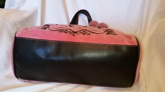 Juicy Couture Tote in Pink and Brown Image 7