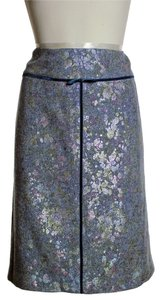 W by Worth Blend Pencil Skirt Gray