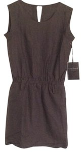 Love Stitch short dress Charcoal on Tradesy