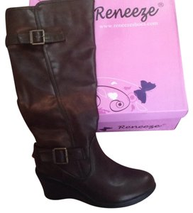 Reneeze Brown Boots