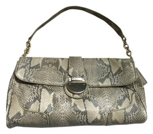 Cole Haan Snakeskin Shoulder Bag