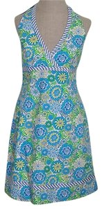 Lilly Pulitzer short dress Multi Floral Summer on Tradesy