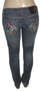 Ed Hardy Skinny Jeans-Distressed