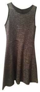 J.Crew short dress Black and white Tweed Fit Flare on Tradesy