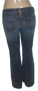 bebe Boot Cut Jeans-Medium Wash