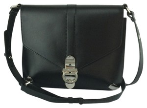 Salvatore Ferragamo Addison Flap Leather Shoulder Bag