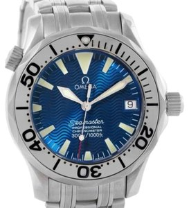 Omega Omega Seamaster Midsize Stainless Steel Blue Dial Watch 2053.80.00