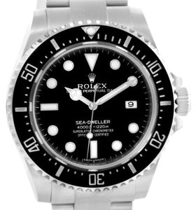 Rolex Rolex Seadweller 4000 Steel Ceramic Bezel Mens Watch 116600 Unworn