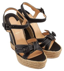 Christian Louboutin Chistian Black Wedges