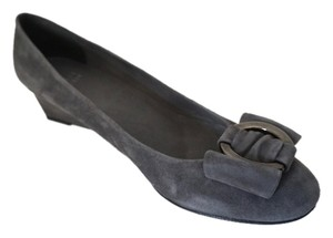 Stuart Weitzman Charcoal Gray Pumps