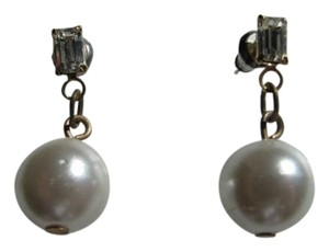 OTHER DANGLE, FAUX PEARL, RHINESTONE