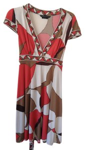BCBGMAXAZRIA short dress mixed floral on Tradesy