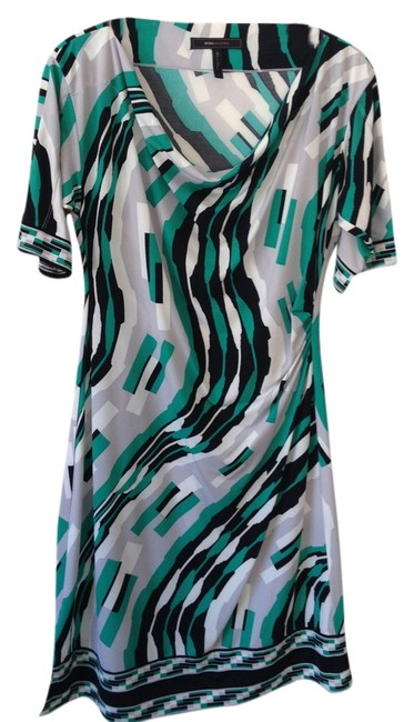 Preload https://item1.tradesy.com/images/bcbgmaxazria-mixed-black-grey-green-and-white-knee-length-short-casual-dress-size-10-m-750455-0-0.jpg?width=400&height=650