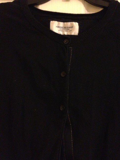 American Eagle Outfitters Cropped 3/4 Length Sleeves Cardigan