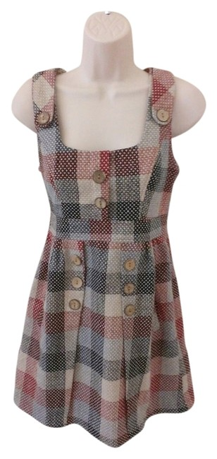 Other short dress Plaid on Tradesy