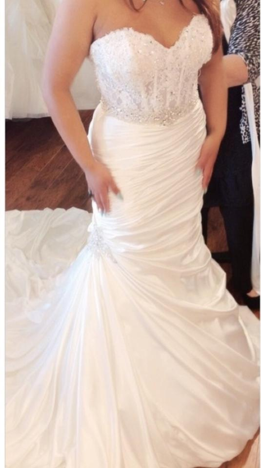 Maggie sottero mia wedding dress tradesy for Best way to sell used wedding dress