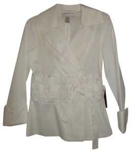 Victor Costa Top White