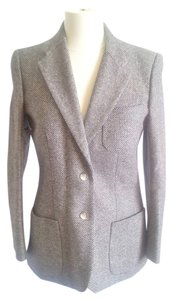 Diane Von Furstenberg Tailored Grey Blazer