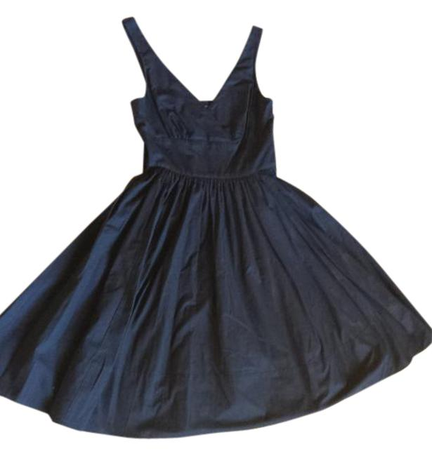 American Living short dress Navy Blue Fit And Flare on Tradesy