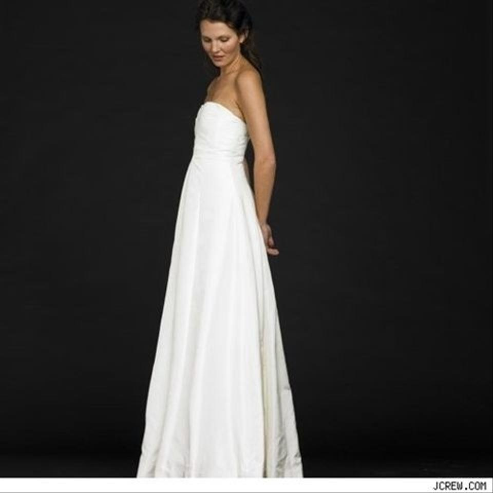 J crew sabine gown wedding dress tradesy weddings for J crew wedding dresses