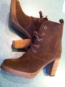Ras Im Imported Italian Suede Leather Heel Lace Up Lace Hun Outdoorsy Active Casual Weekend Western Work Verasatile Fun Fall Brown Boots