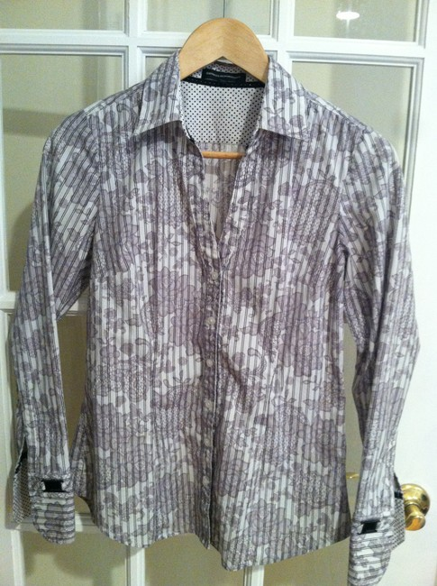 Express Casual Business Button Down Shirt multi