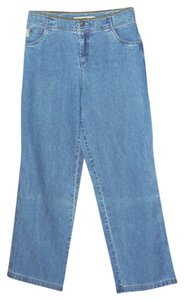 J. Jill Trouser/Wide Leg Jeans-Medium Wash
