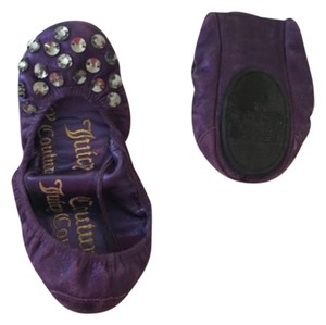 Juicy Couture Purple Flats