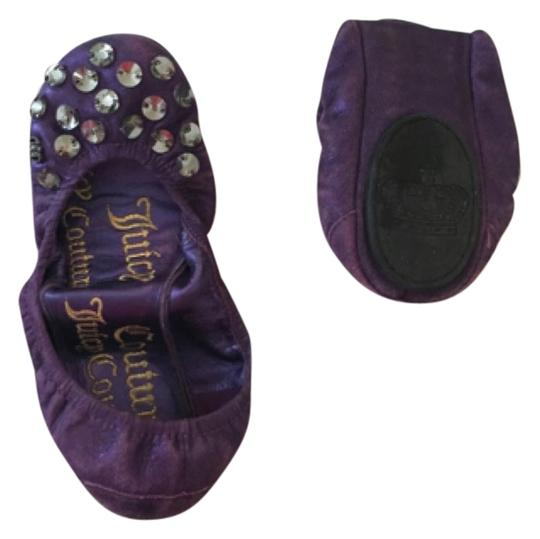 Juicy Couture Purple Flats Image 0