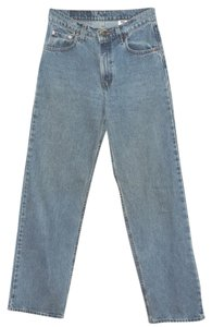 Levi's Trouser/Wide Leg Jeans-Medium Wash