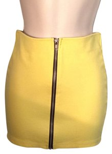 Divided by H&M Mini Skirt Yellow