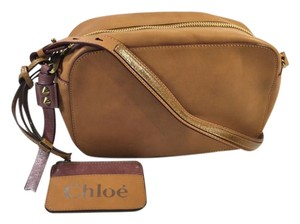 Chlo Leather Cross Body Bag