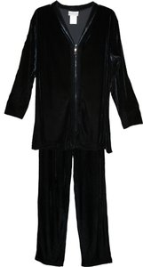 Coldwater Creek Black Velvet Pant Suit