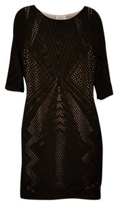 Calvin Klein Sale Holiday Gift Black Size 10 Dress