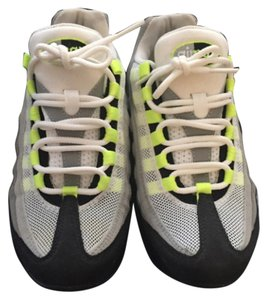 Nike Airmax Black lime green gray Athletic