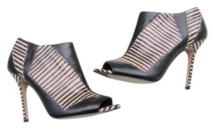 Rachel Roy High Heels Stripes Black stripe Boots