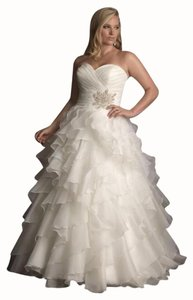 Allure Bridals Ballgown Plus Size Sweetheart Dress