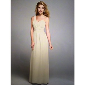 Alfred Angelo Champagne Dress