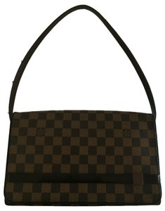 Louis Vuitton Damier Canvas Leather Shoulder Bag