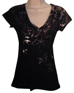 Express T Shirt Black and silver