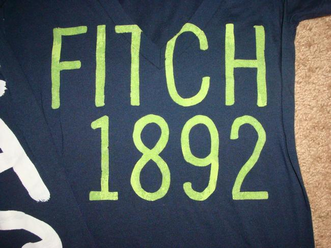 Abercrombie & Fitch T Shirt blue Image 2