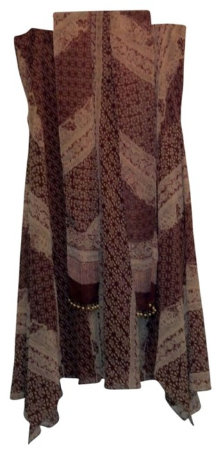 Bandolino Skirt Tan/Brown multi