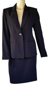 Maggy London New MAGGY LONDON Black Career Skirt Suit 8