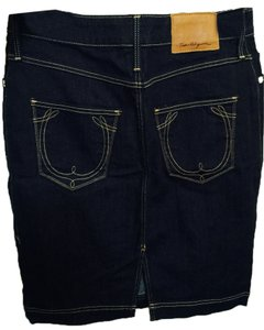 True Religion Skirt dark blue denim
