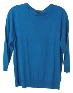 J.Crew Blue Wool Crew Neck Sweater