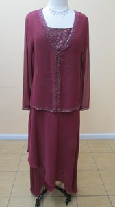 Alfred Angelo Wine Wine 6354/mskt-q Dress Dress