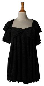 Twelve by Twelve short dress Black Tunic on Tradesy