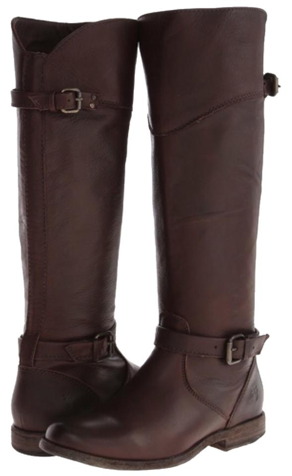 Ladies Frye Dark Brown use 3476844-dnx Boots/Booties Make full use Brown of materials b90c71