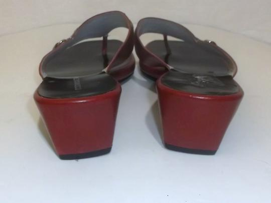 BCBG Max Azria Red Sandals